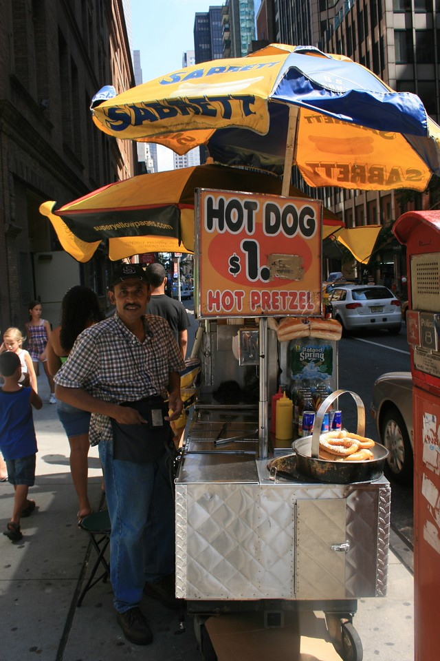 Hot Dogs !!!! NYC
