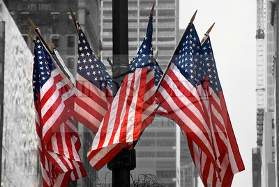 42nd St Flags