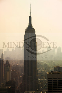 Empire State Building tall view from the Rock (Rockefeller: http://www.topoftherocknyc.com/welcome.aspx)