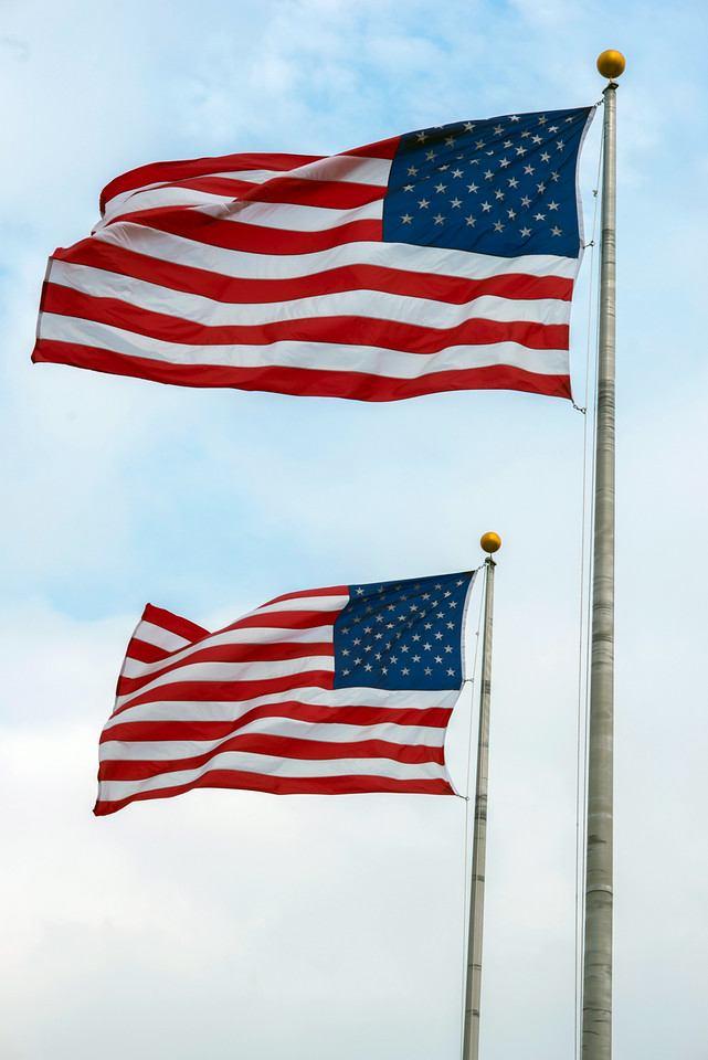 Flags, Liberty State Park, NJ