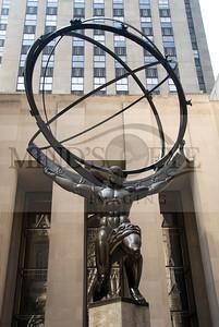 Atlas @ Rockefeller Plaza