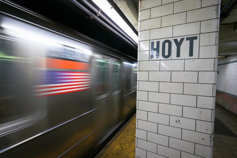 Hoyt Subway Station