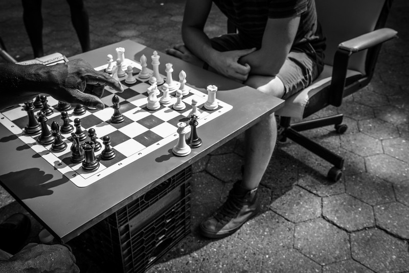 Chess, Flat Iron District