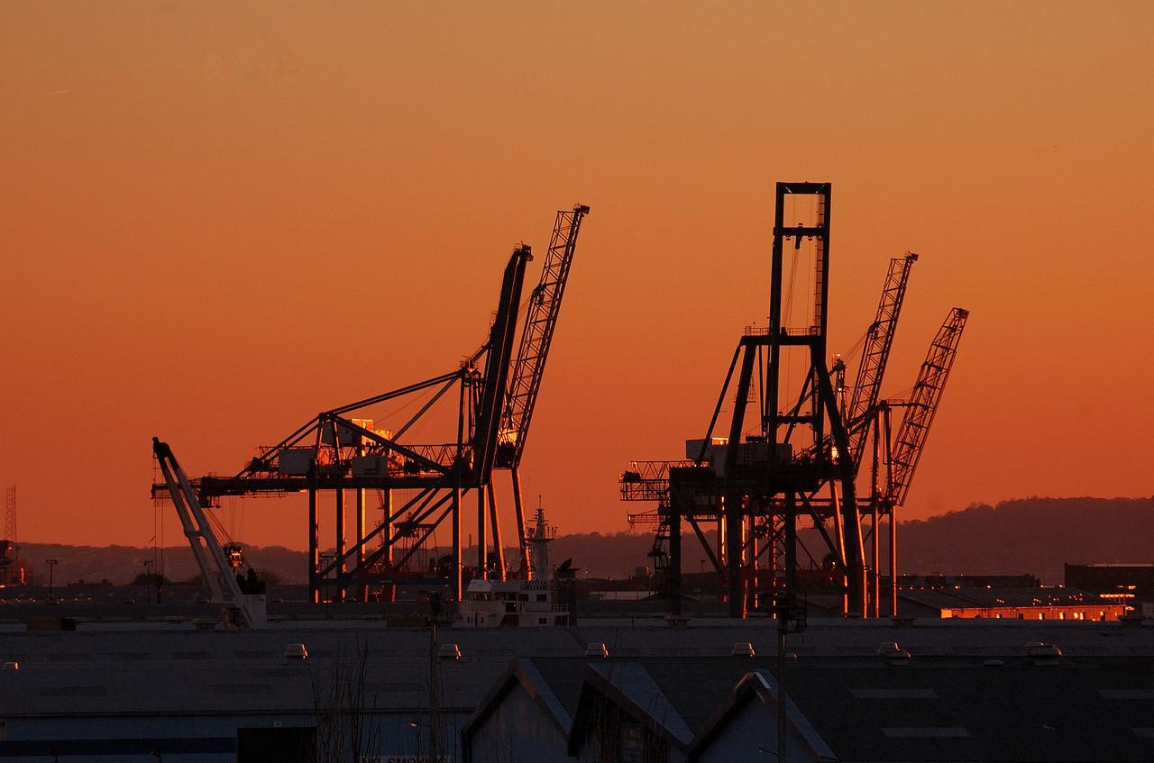 Red Hook at dusk