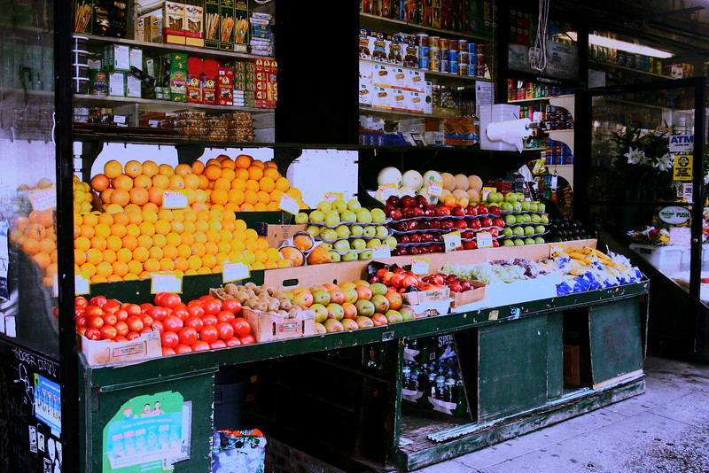Fruit Stall, NYC