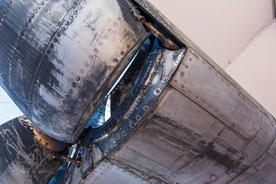 Concorde Right Side Engine Exhaust