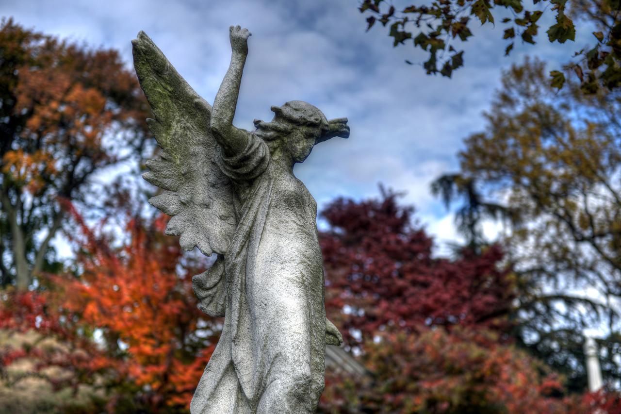 Angel, Green-Wood Cemetery