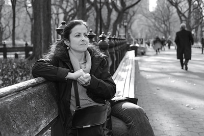 Jamie at the Mall, Central Park