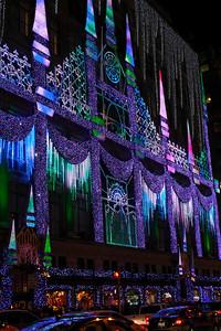 Saks Fifth Avenue Light Show