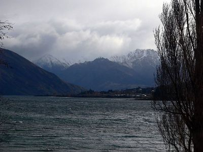 Then Wanaka said goodbye to us with some stormy weather...
