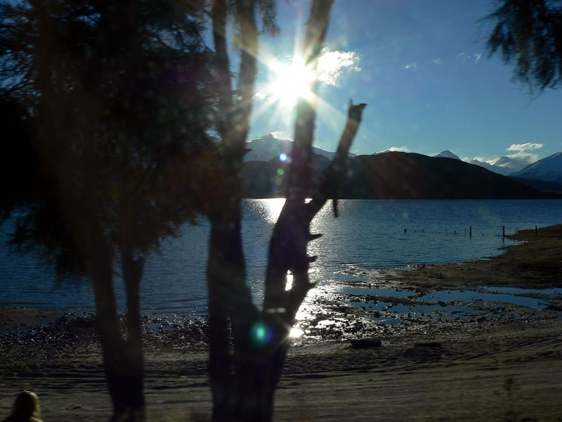 and a shot that I fluked out of the car across Lake Wanaka.