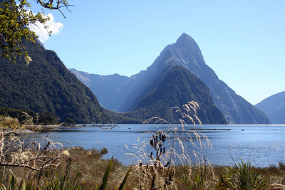 Milford Sound, technically a fjord, but one of New Zealand's most popular sights