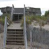 steps/deck on the dune