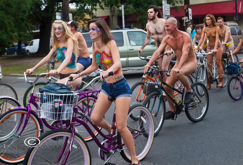 Naked Bike Parade, New Orleans, June 2012 - Bonish Photo (24)