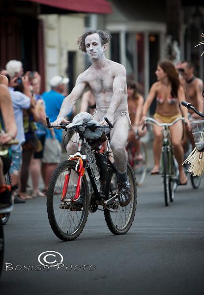 Naked Bike Parade, New Orleans, June 2012 - Bonish Photo (11)