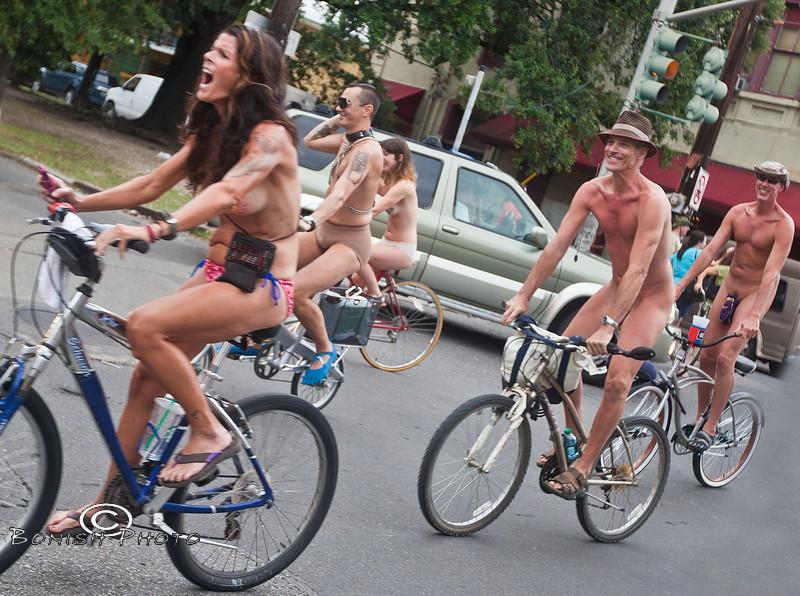 Naked Bike Parade, New Orleans, June 2012 - Bonish Photo (22)