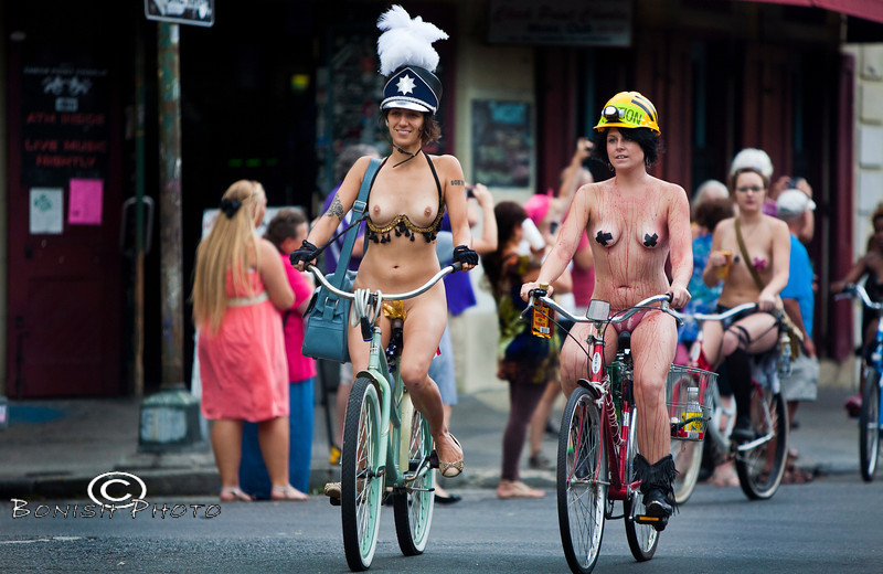 Naked Bike Parade, New Orleans, June 2012 - Bonish Photo (4)
