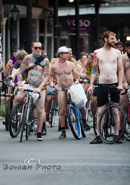 Naked Bike Parade, New Orleans, June 2012 - Bonish Photo (3)