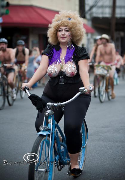 Naked Bike Parade, New Orleans, June 2012 - Bonish Photo (10)