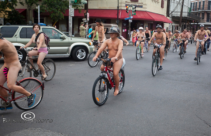 Naked Bike Parade, New Orleans, June 2012 - Bonish Photo (20)