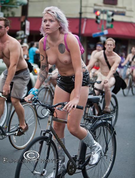 Naked Bike Parade, New Orleans, June 2012 - Bonish Photo (9)