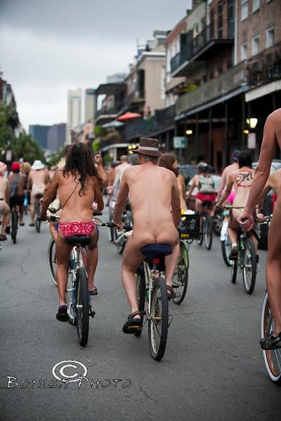 Naked Bike Parade, New Orleans, June 2012 - Bonish Photo (13)