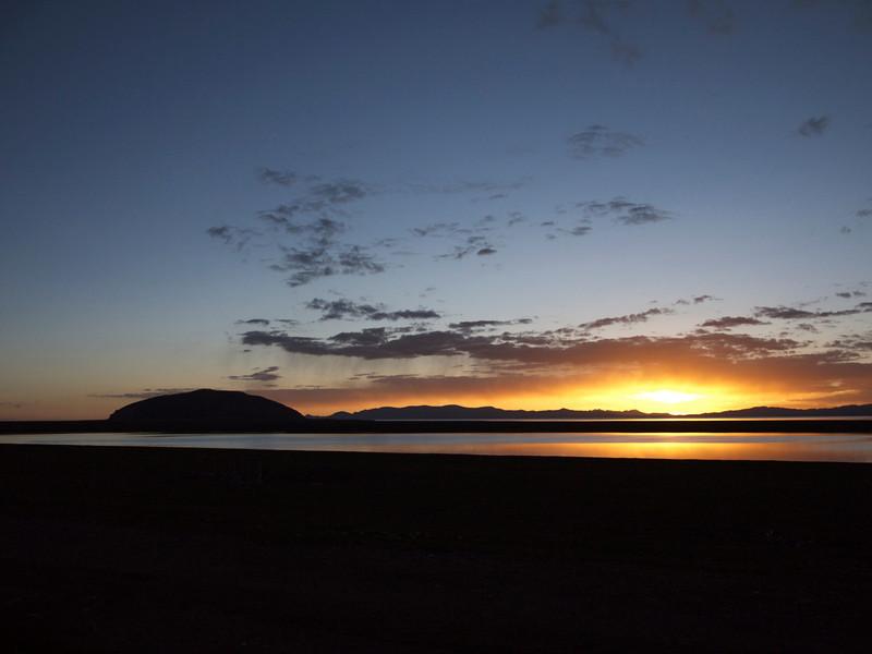 sunset at tashi do
