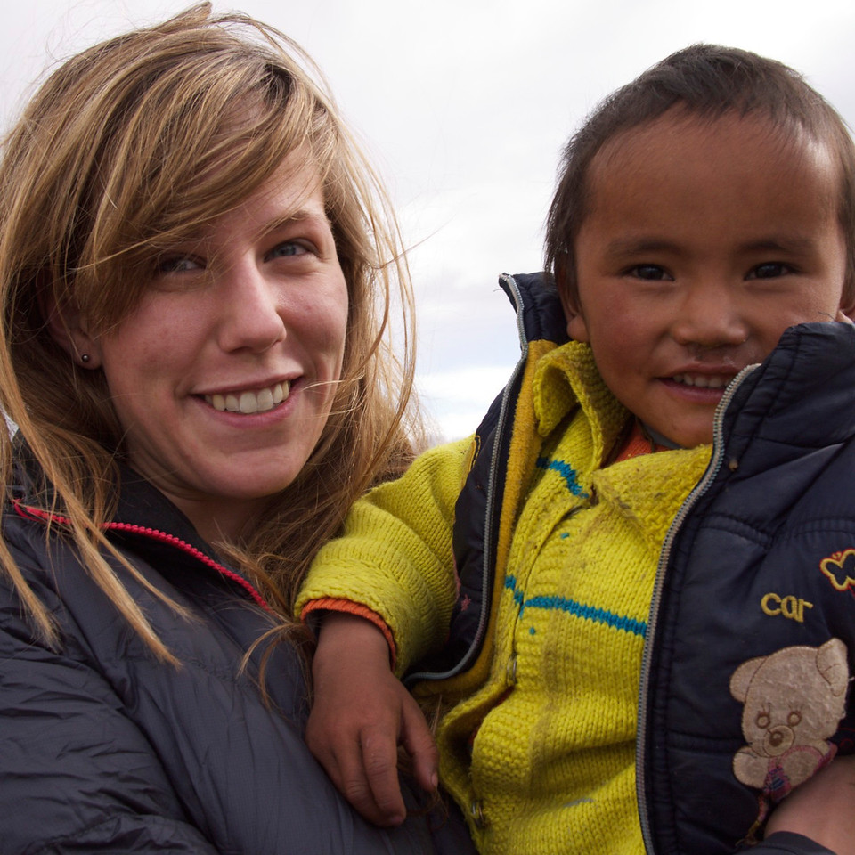 kelly and little tsering.