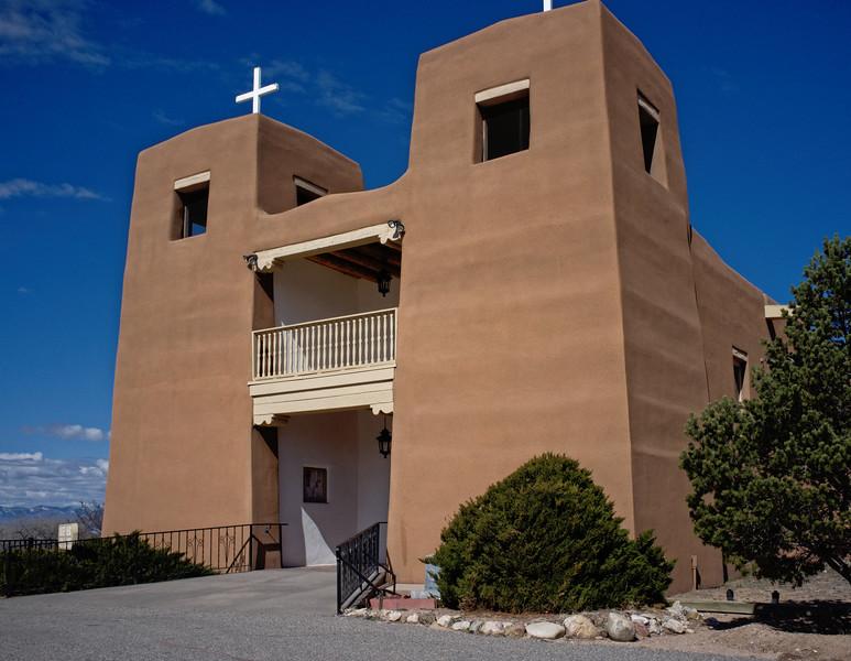 Sacred Heart Church in Nambe