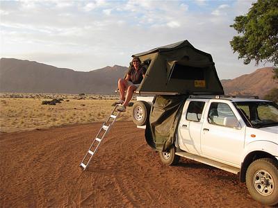 Ons mooiste kampeerplekje. Namtib Lodge, Namibië.