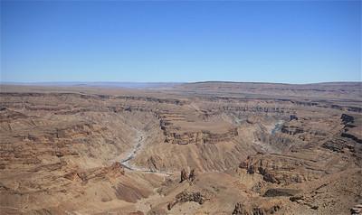 Fish River Canyon, Namibië.