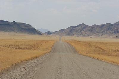 Namib Naukluft National Park. Op weg naar Sesriem, Namibië.