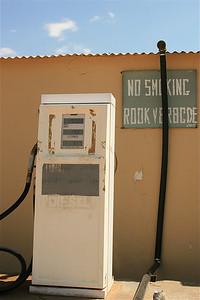Rook verbode. Solitaire, Namibië.