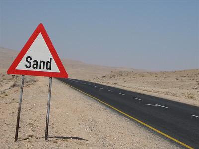 Sand? Namibië.