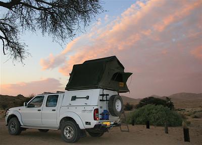 Wat een plekje. Klein Aus Vista Campground, Namibië.