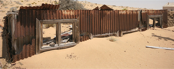 Kolmanskop, Namibië.