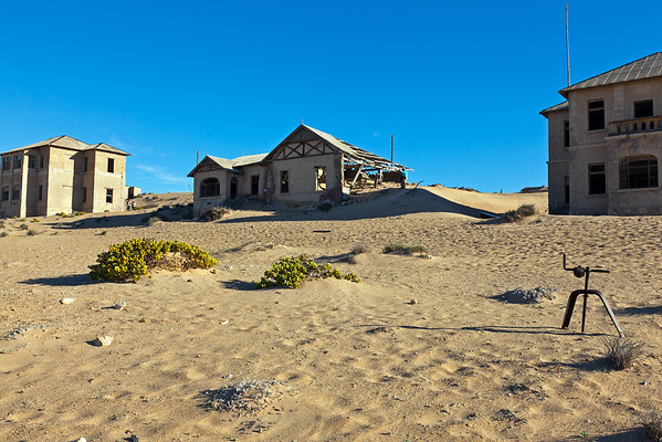 Namibia: ghost town of Kolmanskop