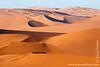 Dunes at Sunrise Seen From Sossusvlei Dune
