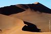 Sand Dunes at Sunset Seen From Sossusvlei Dune