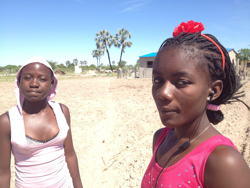 Noon day sun.<br /> <br /> Onumhelo, Namibia.