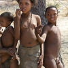 Youngsters at the Bushman Camp, Otavi Mountain Region