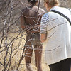 Walking to the Bushman Camp, Otavi Mountain Region