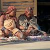 Himba Women Selling Their Crafts, Walvis Bay Port, Swakopmund