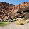 The Lodge Nestled Below Sandstone Cliffs, Twyfelfontein