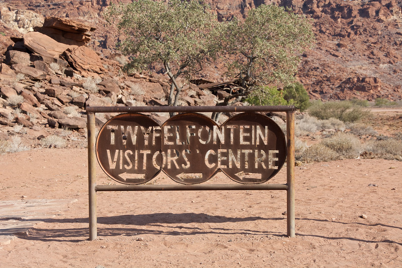 Welcome Sign, Twyfelfontein