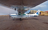 Next day we board this little plane and fly to our last but not least major destination, Etosha National Park.