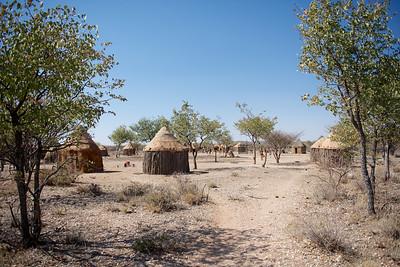 Himba village, Namibia.
