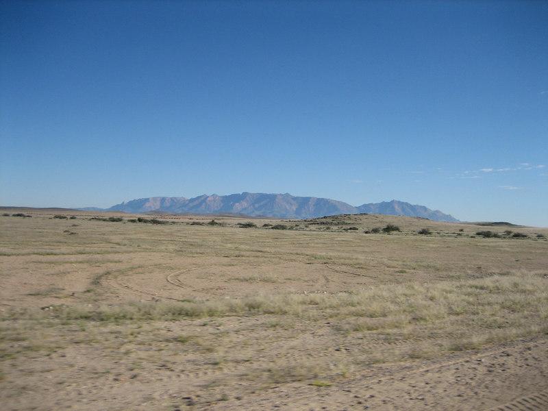 Brandberg Mtn in the distance