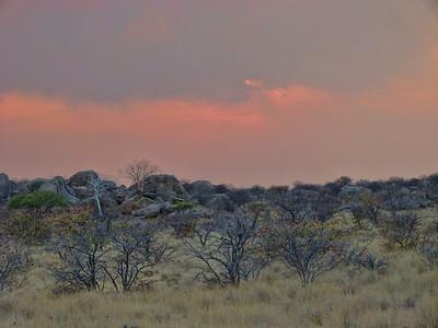 The beauty of Damaraland at sunrise.