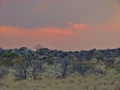 The beauty of Damaraland at sunrise.